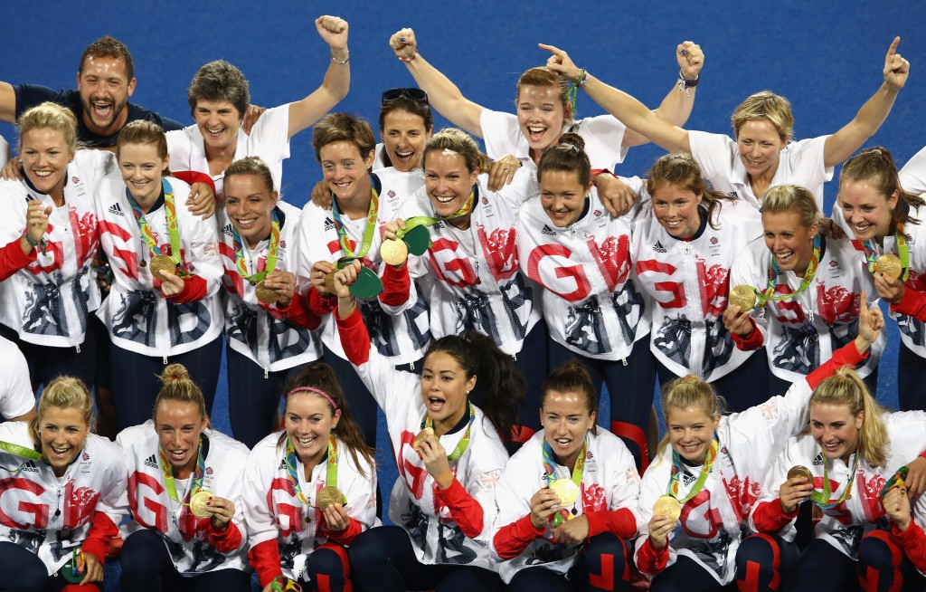 Great Britain won their first-ever Olympic women's hockey gold medal after beating defending champions The Netherlands in a dramatic penalty shoot-out ©Getty Images