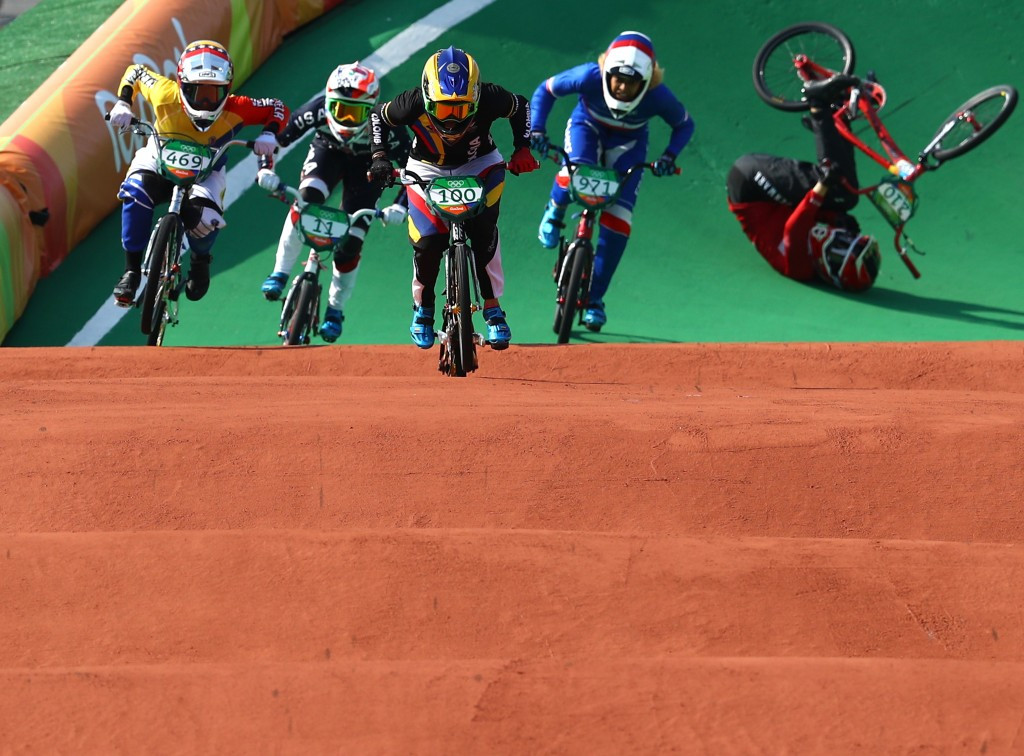 Pajon defends Olympic BMX title at Rio 2016 with faultless display