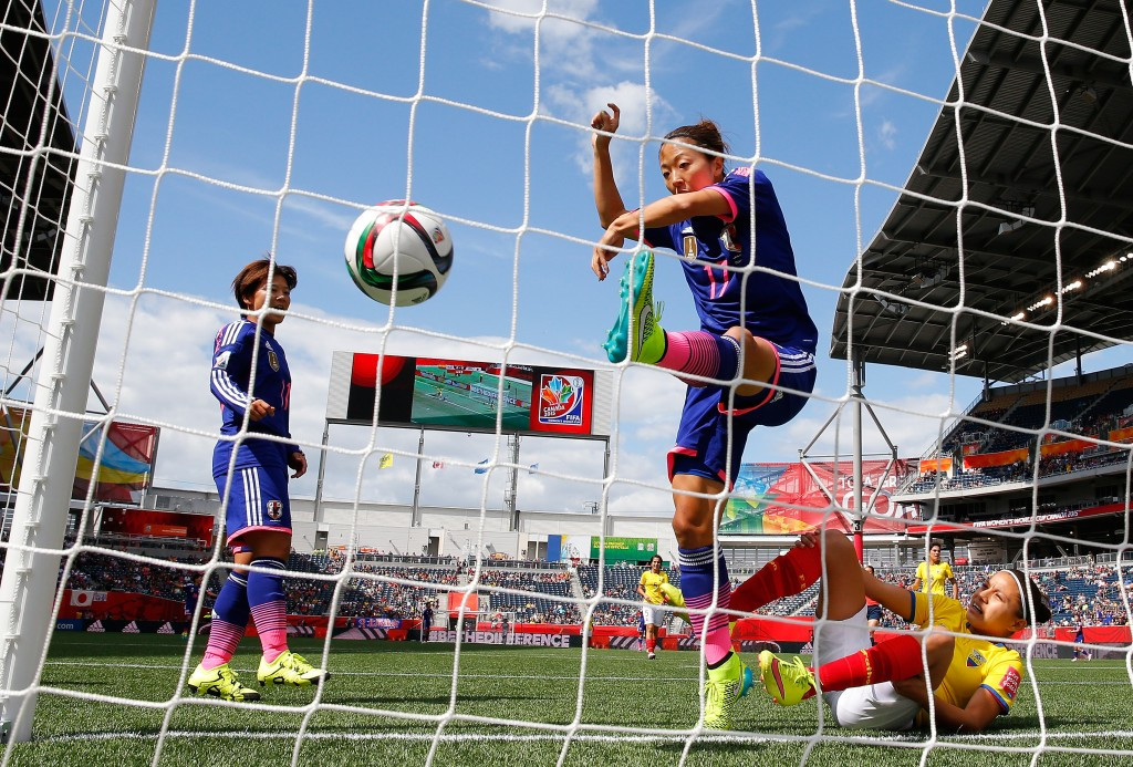 Japan clinched top spot in Group C as Yuki Ogimi 's fifth minute goal gave them a 1-0 win over Ecuador