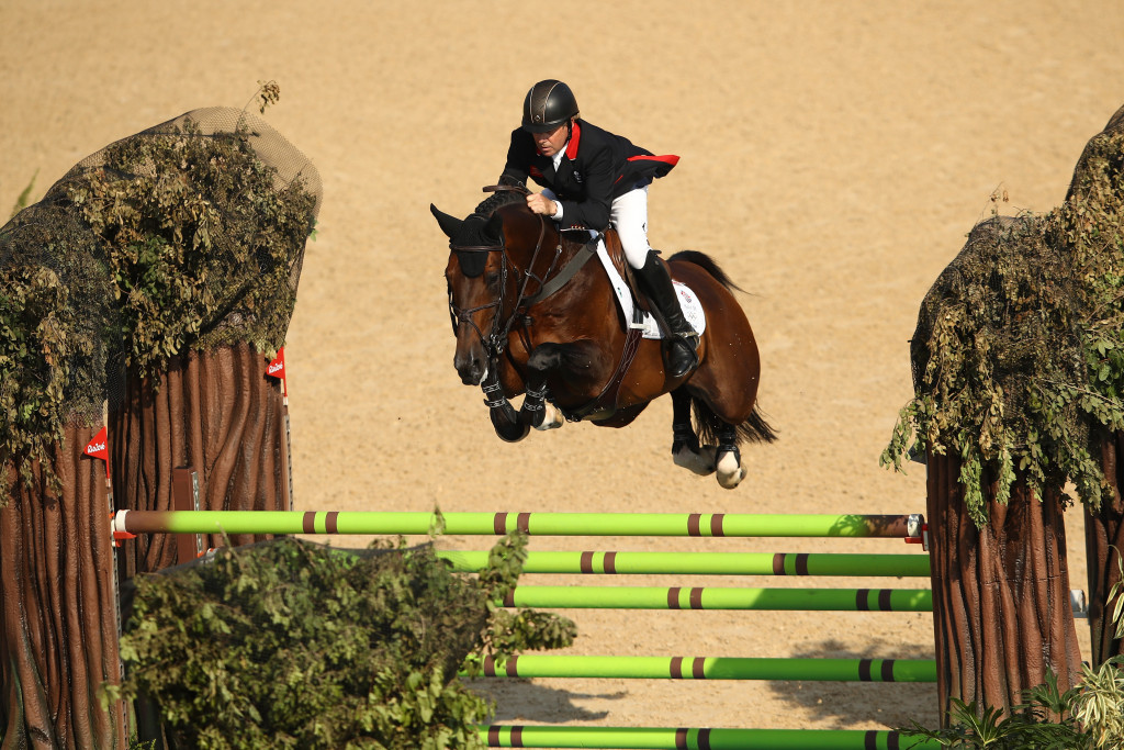Skelton becomes oldest British Olympic champion for 108 years with victory in jumping final