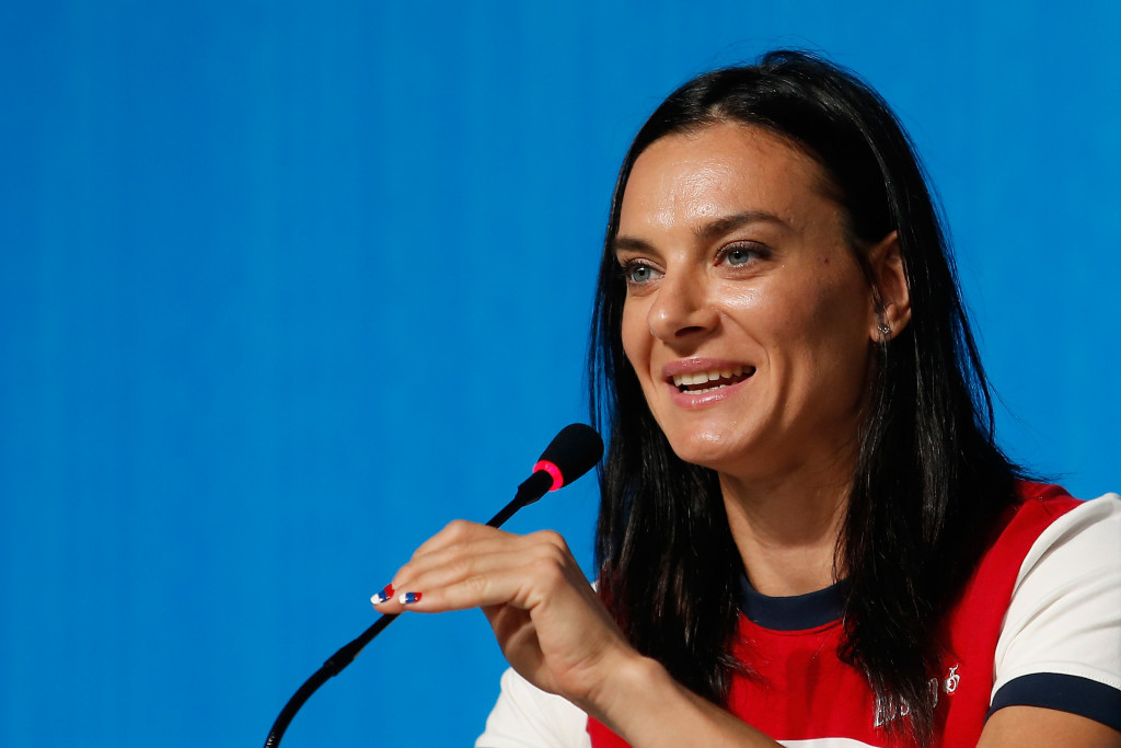 Yelena Isinbayeva officially announced her retirement in Rio de Janeiro today