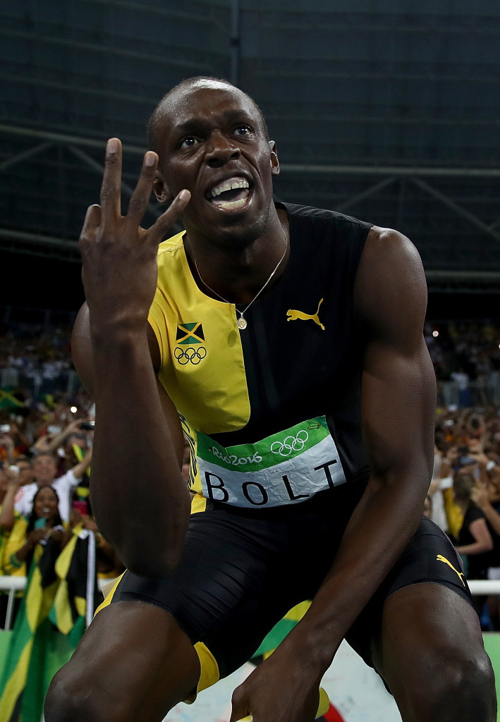 "Bolt completes Rio 2016 golden treble and says: ""I am the greatest"""