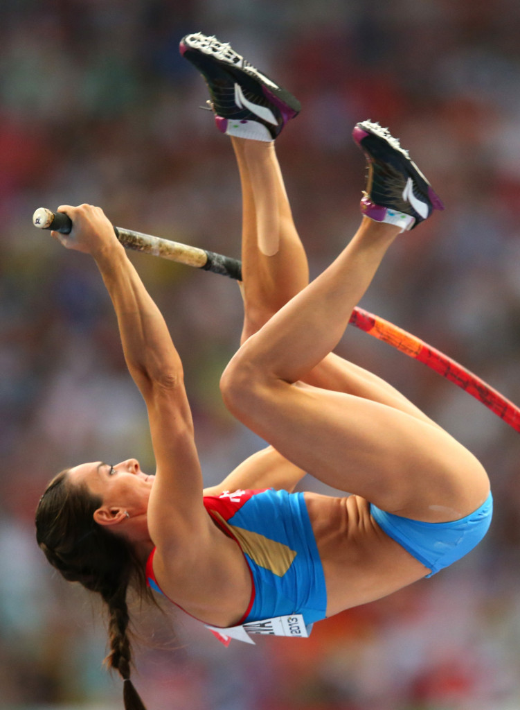 Yelena Isinbayeva claims she has competed drugs free throughout her career and that she not have been punished by the IAAF and made to miss Rio 2016