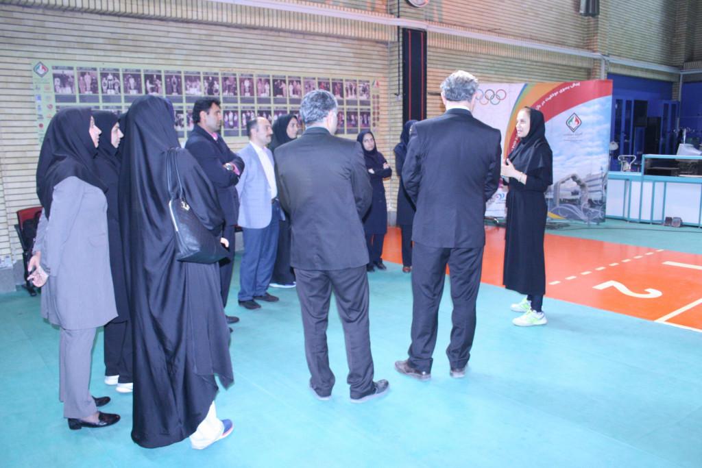 The programme will be spread across Iran ©IOC