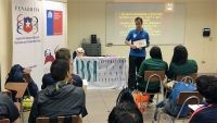IBSA-accredited referee trains Chilean blind football officials
