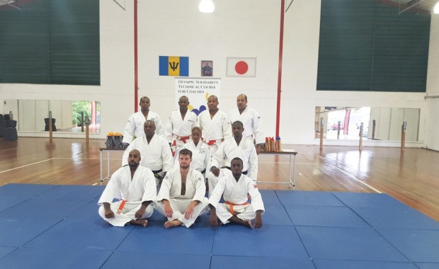 Barbados Olympic Association hold technical course for judo coaches