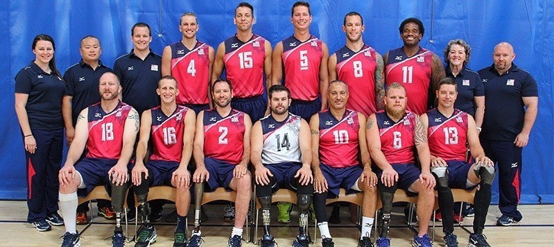 Five army veterans have been named on the US sitting volleyball squad for Rio 2016 ©U.S Paralympics