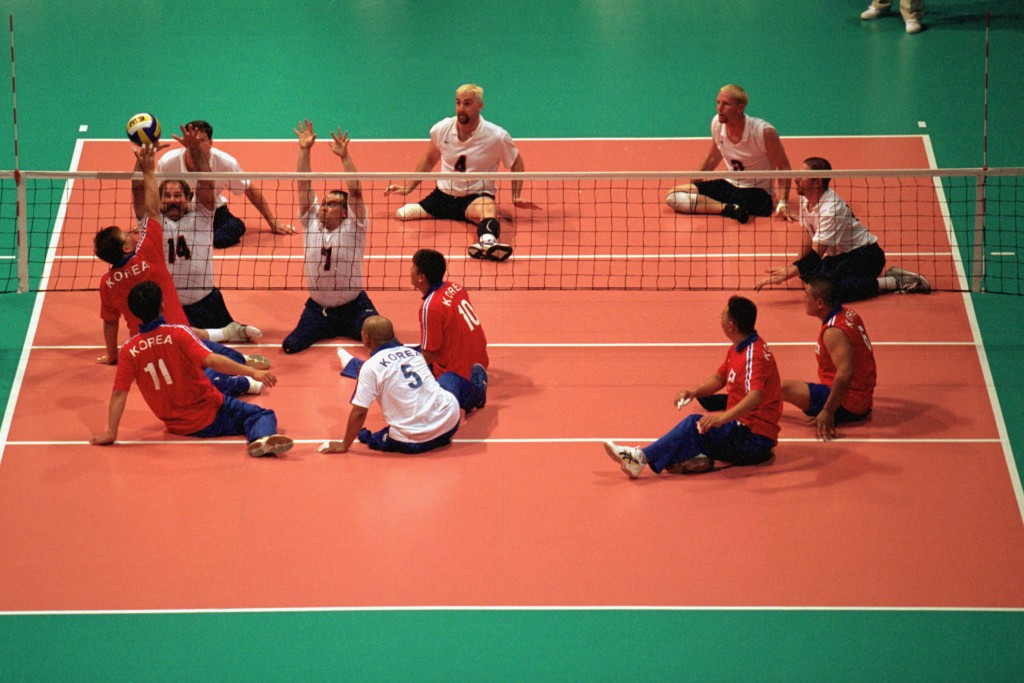 The American men's sitting volleyball team have never won a Paralympic medal ©Getty Images