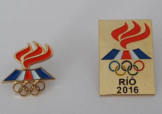 Icelandic Olympic Committee take two pins to Rio 2016