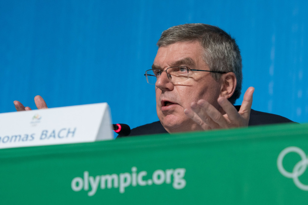 "Thomas Bach claimed Rio 2016 had been an ""iconic"" Games ©Getty Images"