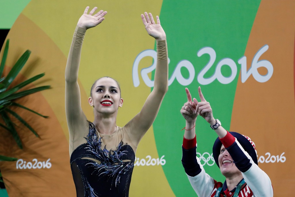 Mamun leads Russian one-two to claim Olympic crown in individual all-around rhythmic gymnastics