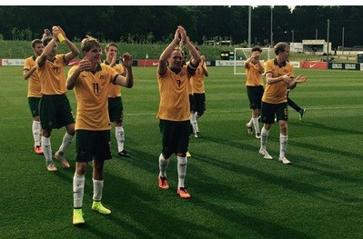 gave Australia a 2-0 victory over Portugal in Group B