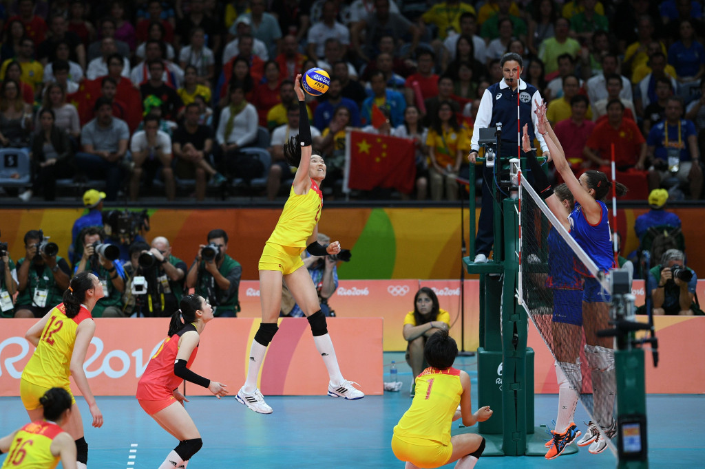 China recover from set down to beat Serbia and seal third women's Olympic volleyball crown