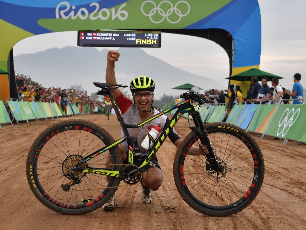World champion Schurter completes Olympic medal set after finally clinches mountain bike gold