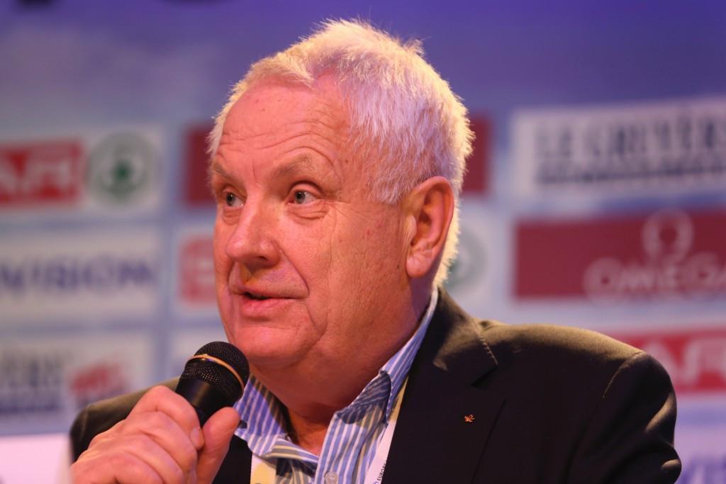 European Athletics President Svein Arne Hansen