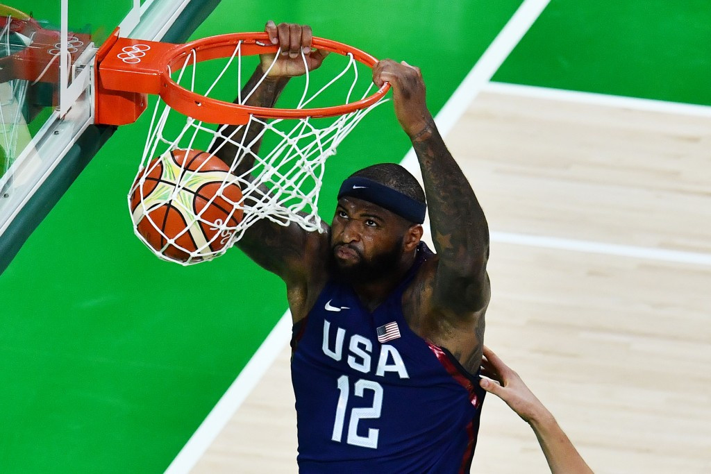 The United States outclassed their opponents Serbia ©Getty Images