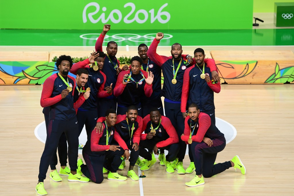 United States win third successive Olympic men's basketball crown as Rio 2016 action comes to an end