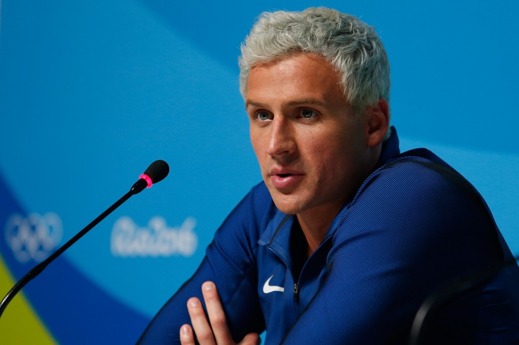Ryan Lochte won a relay swimming gold during Rio 2016, but has since received far less positive headlines ©Getty Images
