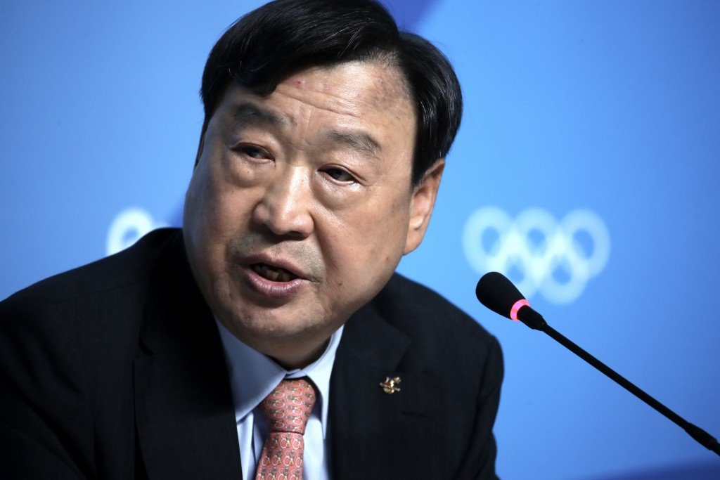 Pyeongchang 2018 President Lee has legacy plans for the Jeongseon Alpine Centre after the Games finish ©Getty Images