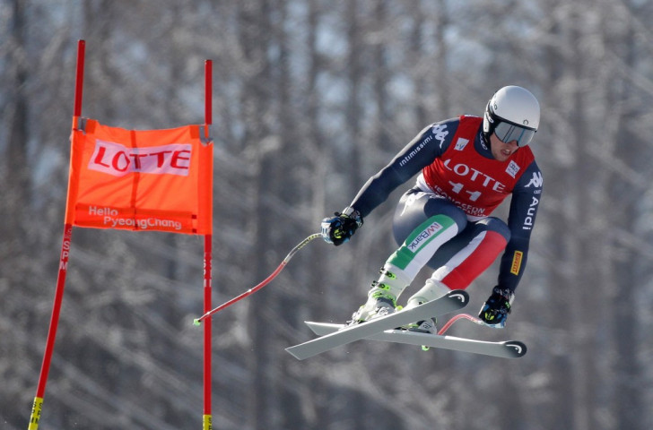 Italy's Mattia Casse competes in the men's Super G Finals during the 2016 Audi FIS Ski World Cup at the Jeongseon Alpine Centre, which may open as a training centre ahead of Beijing 2022 ©Getty Images