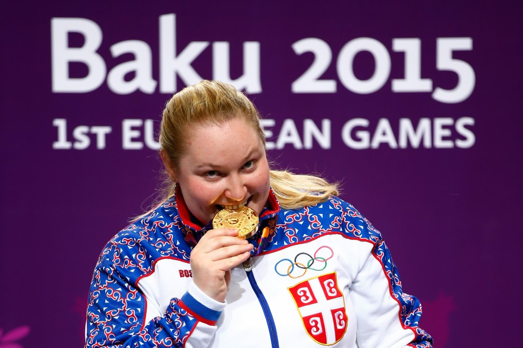 Serbia at the double to take third European Games shooting gold medal