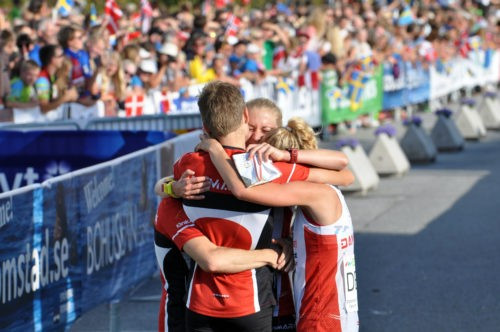 Alm secures second World Orienteering Championships gold medal by guiding Denmark to sprint relay triumph