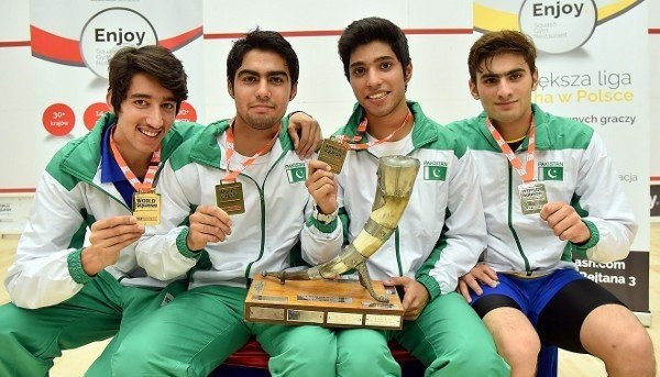Pakistan face investigation after allegedly fielding two over-age players during World Junior Squash Team Championship