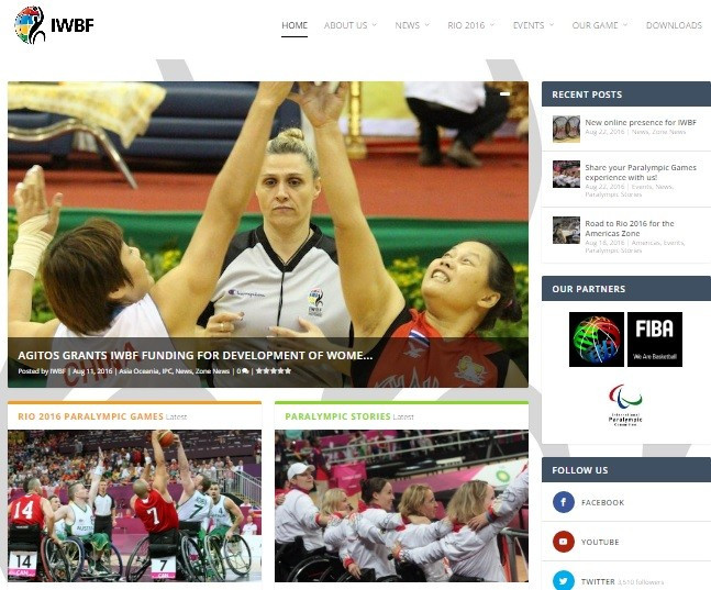 The launch of the new website comes amid an attempt to increase the IWBF's online presence ©IWBF