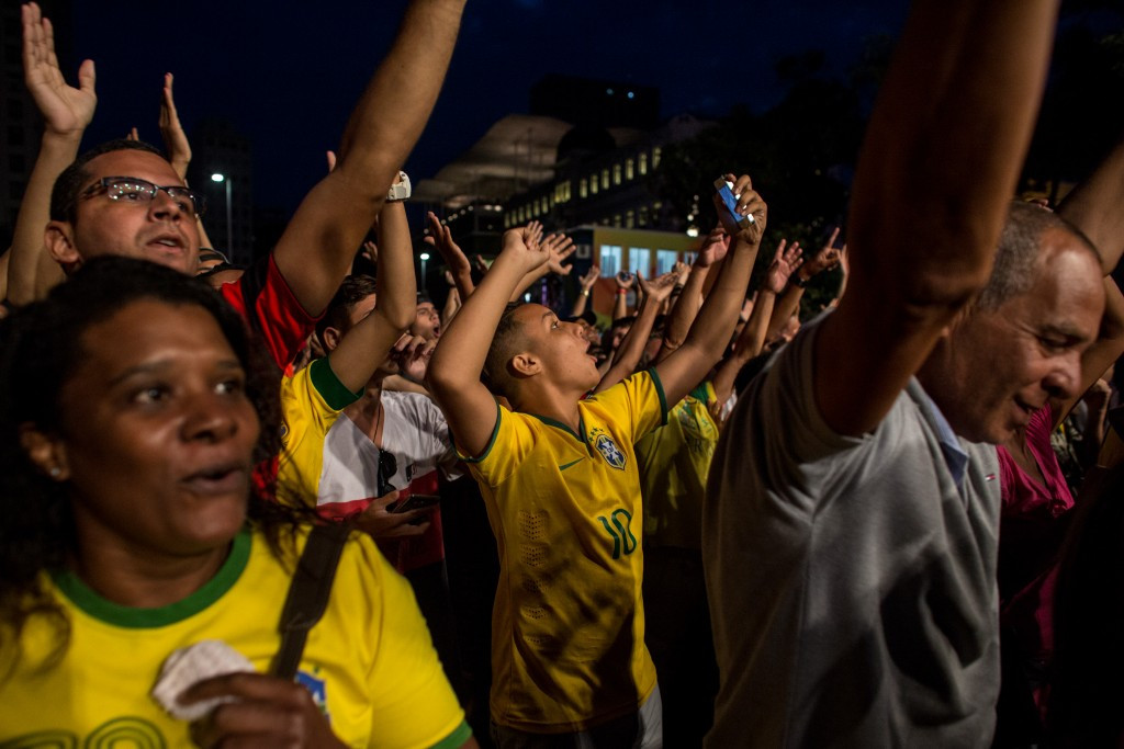 Football success for Brazil was one of the great moments of celebration for the local population ©Getty Images