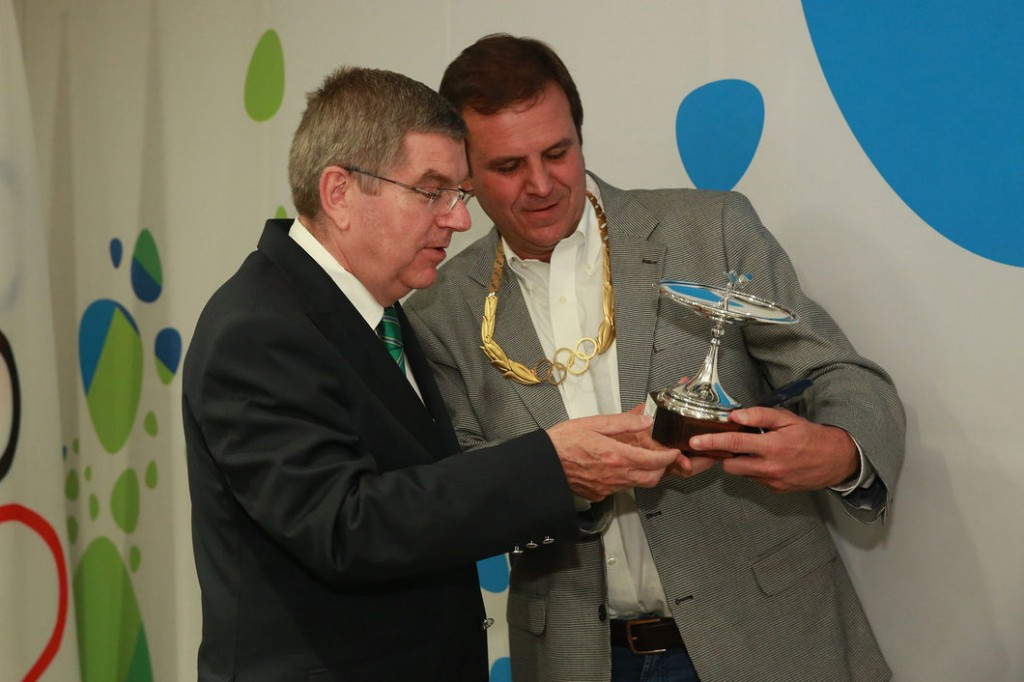"Nuzman and Paes awarded gold Olympic Orders in recognition of ""success"" of Rio 2016"