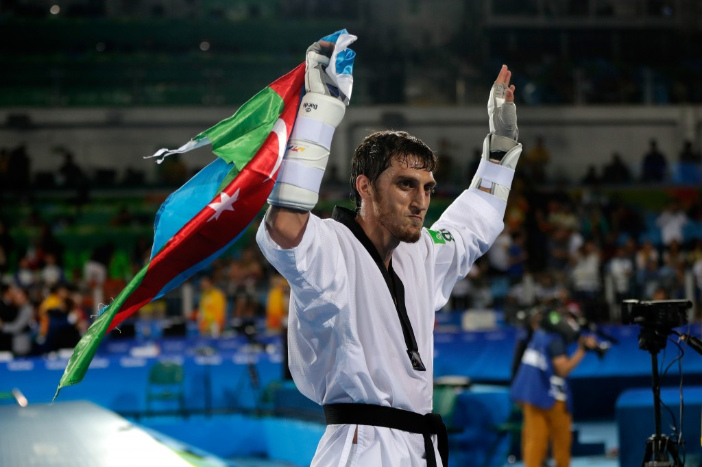 Radik Isayev struck gold in Rio for Azerbaijan ©Getty Images