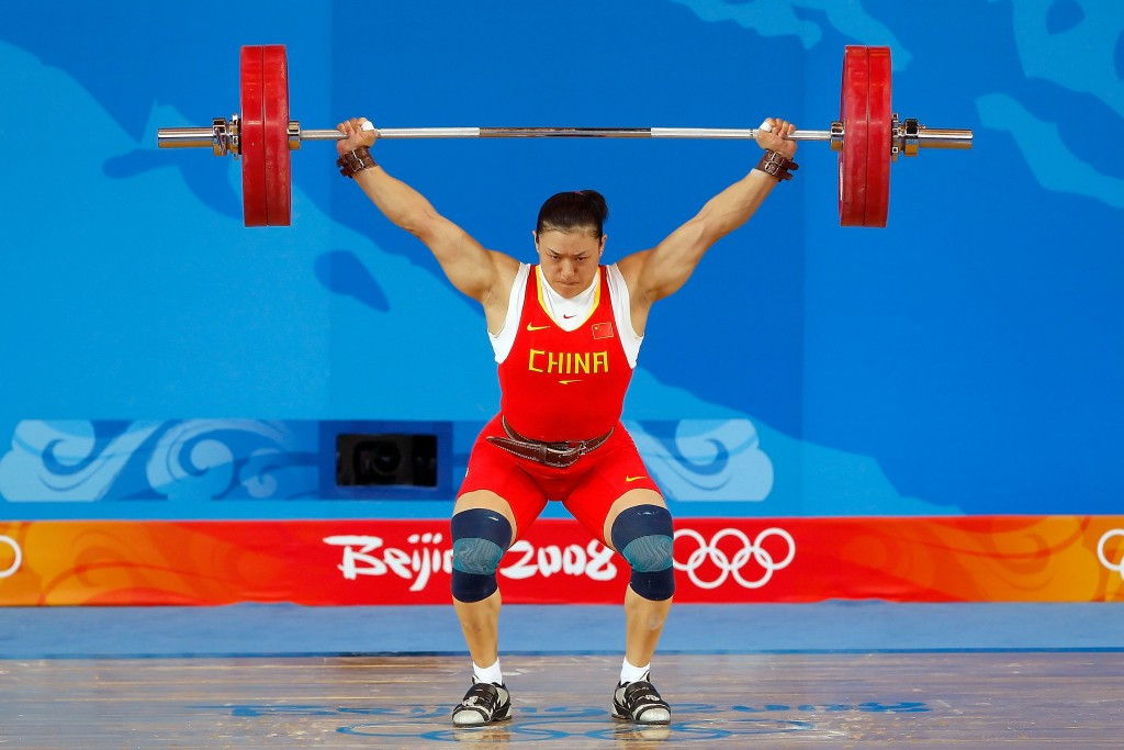 Cao Lei is among three Chinese weightlifters who are set to be stripped of their Beijing 2008 gold medals ©Getty Images