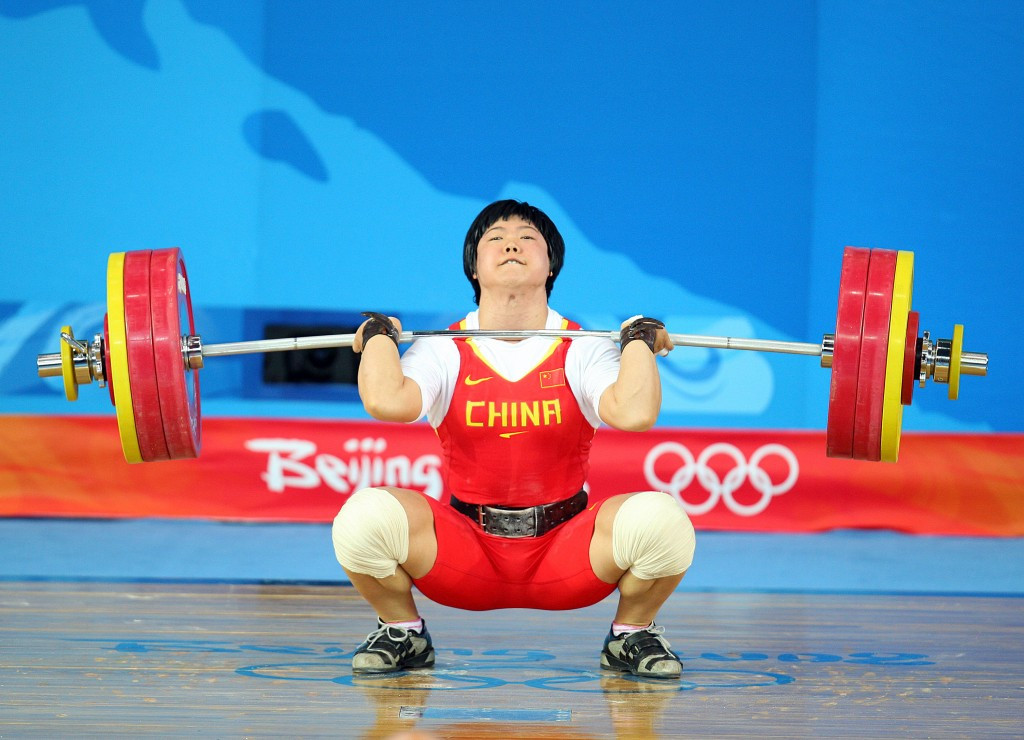 Women's 69kg gold medallist Liu Chunhong is also set to lose her Beijing 2008 medal ©Getty Images