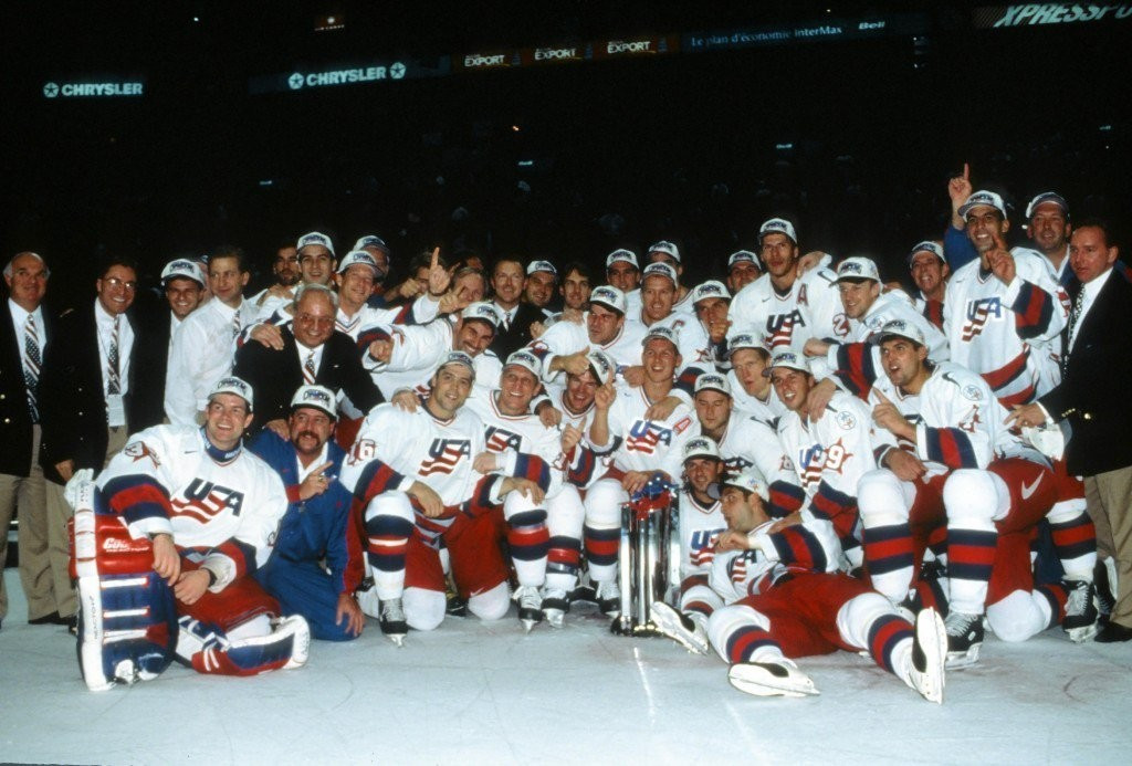 The 1996 World Cup of Hockey team are among the inductees ©Getty Images