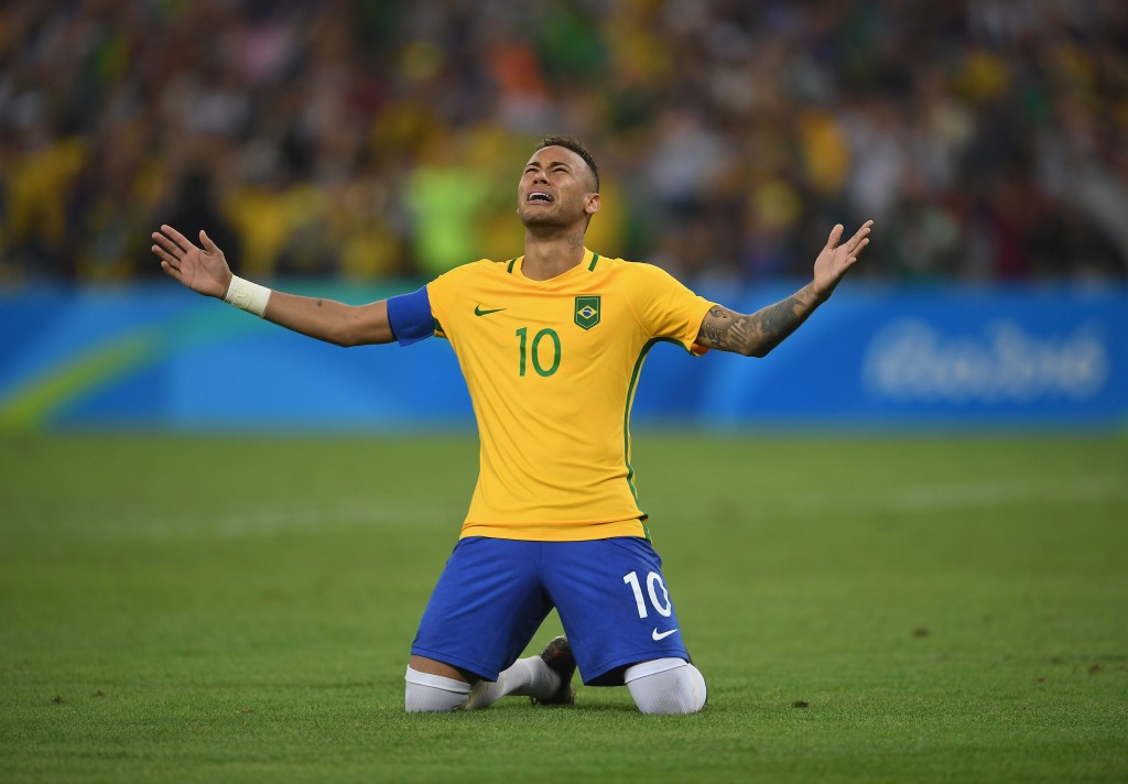 Neymar's winning penalty provided hosts Brazil with one of their moments of the Games ©Getty Images