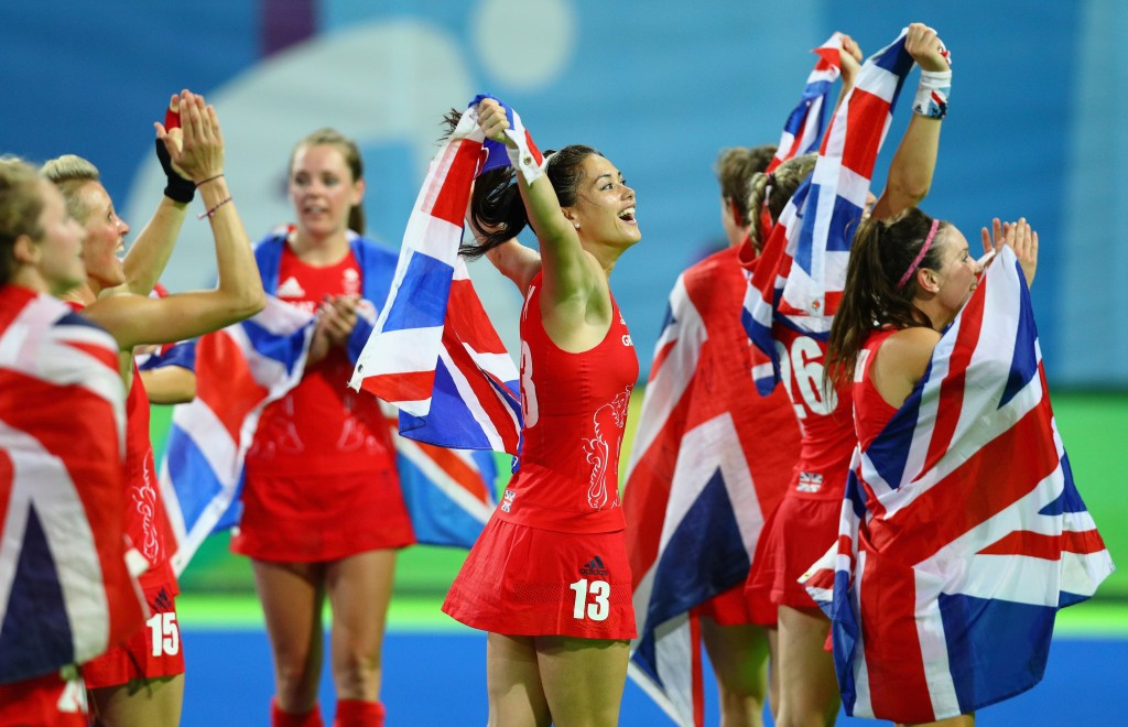 The hockey success of Great Britain's women cost more than £16 million ©Getty Images