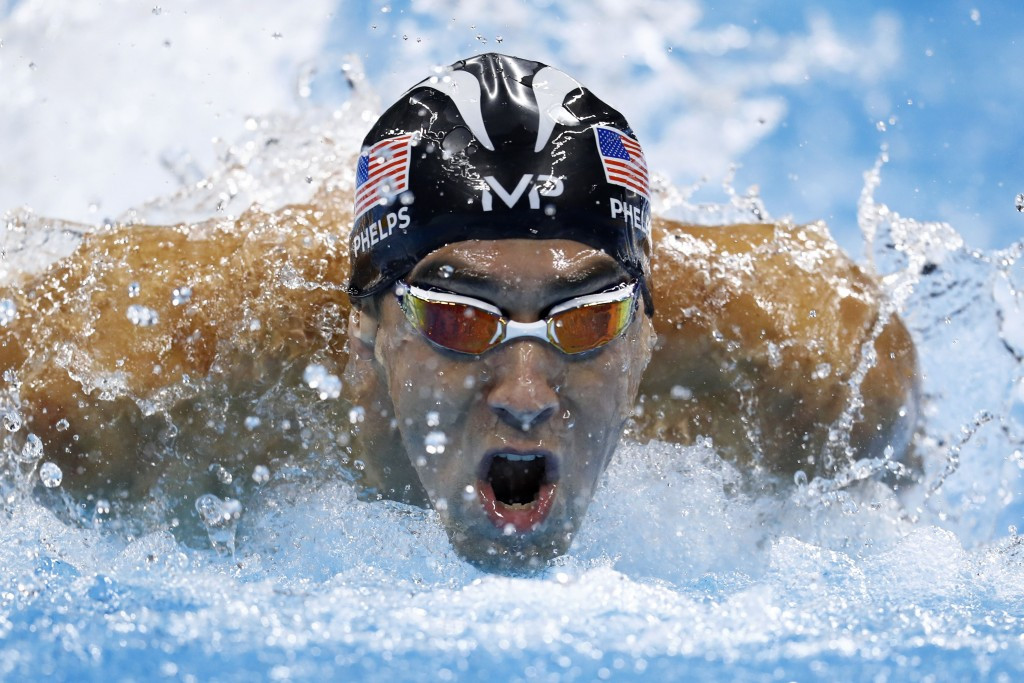 Michael Phelps admitted it broke his heart to see athletes who had failed drugs tests competing at Rio 2016 ©Getty Images