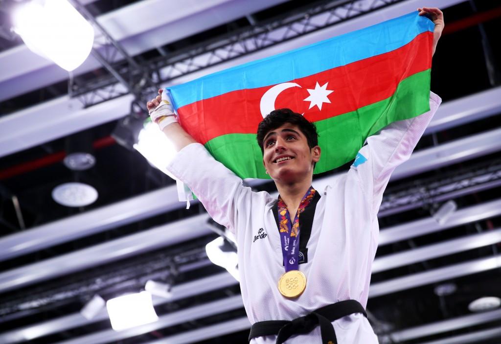 Taghizade does Azerbaijan proud at Baku 2015 as Jones returns to gold standard