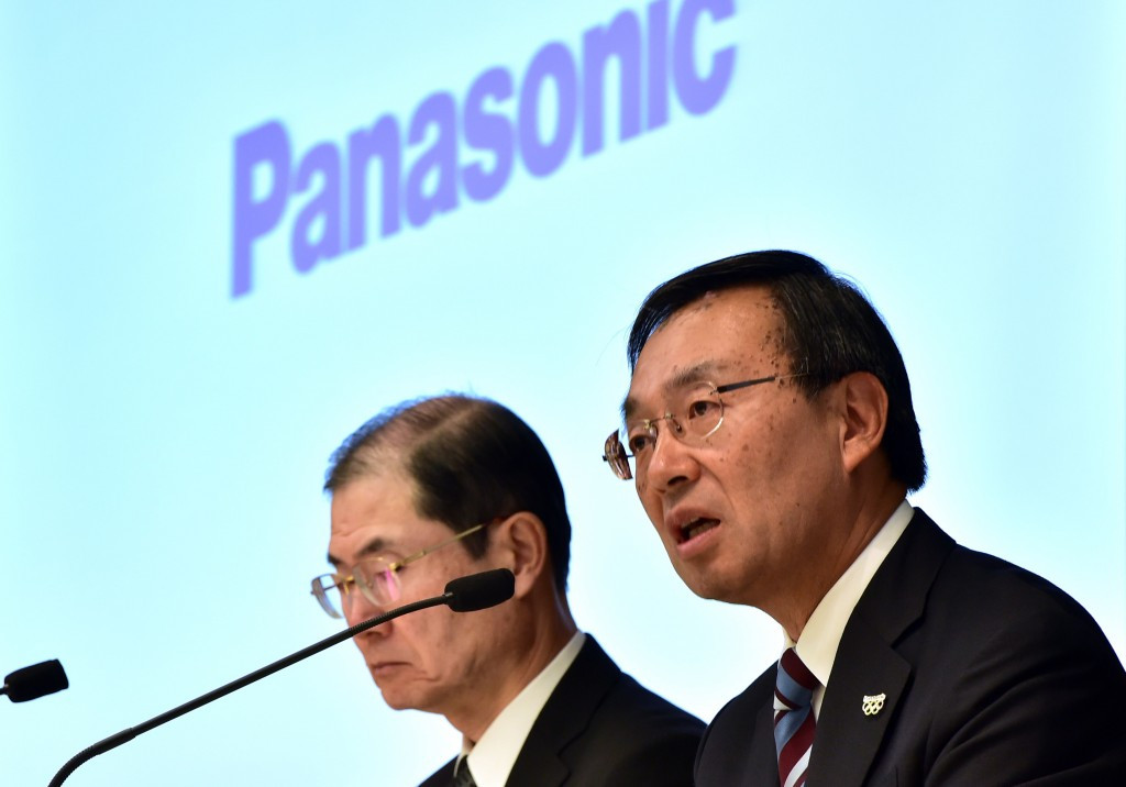 Panasonic President Kazuhiro Tsuga says the corporation will strive to create an inclusive society for persons with impairments ©Getty Images