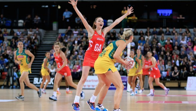 The matches in Australia and New Zealand will be shown live on Sky Sports 3 and Sky Sports Mix ©England Netball
