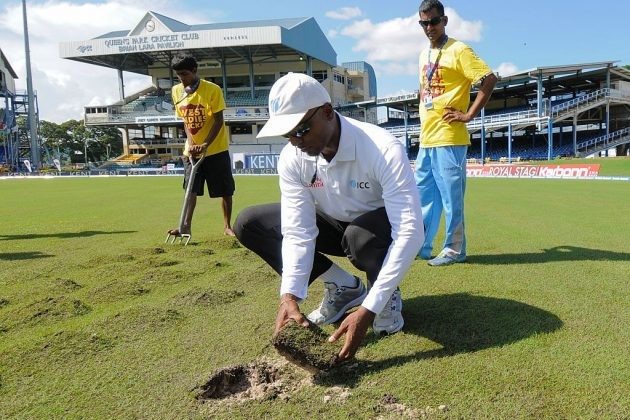 """ICC criticise """"poor"""" outfields at two major international venues"""