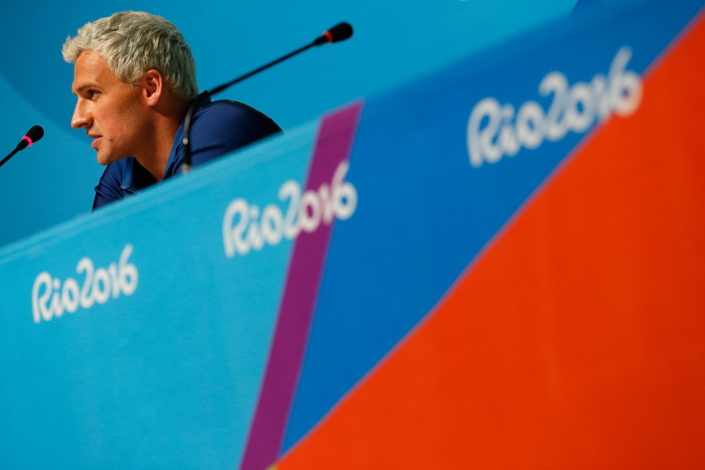 Ryan Lochte could be summoned back from Brazil to testify ©Getty Images