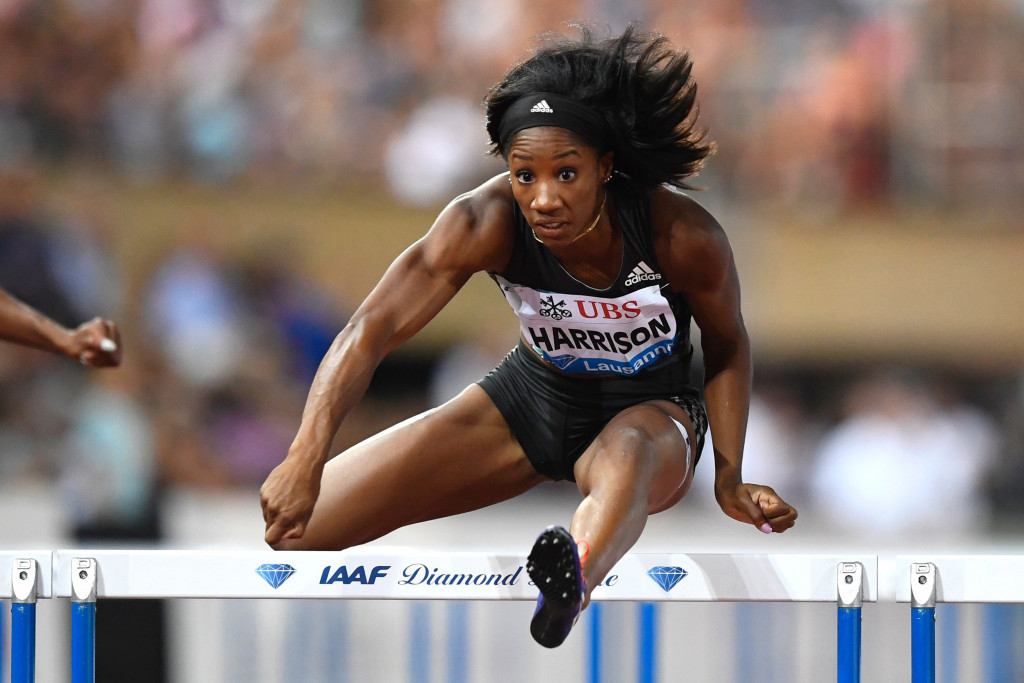 World 100 metres hurdles record holder Harrison wins at IAAF Diamond League in Lausanne after missing Rio