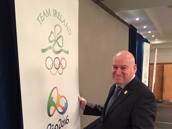 Ireland's Chef de Mission Kevin Kilty was among those questioned by Brazilian police today ©Twitter