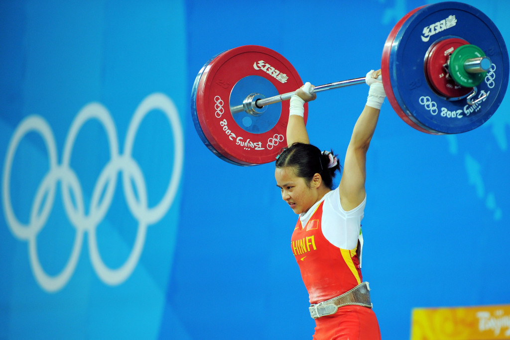 China are facing a one-year ban from weightlifting ©Getty Images