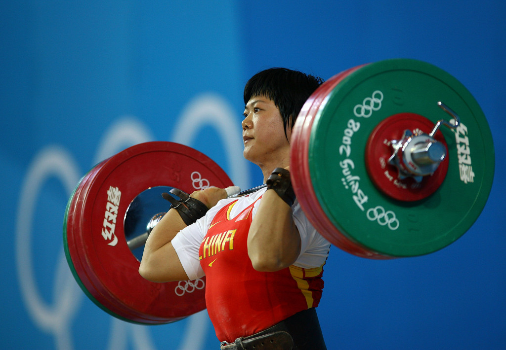Liu Chunhong won women's 69kg gold at Beijing 2008 but is set to lose her medal ©Getty Images