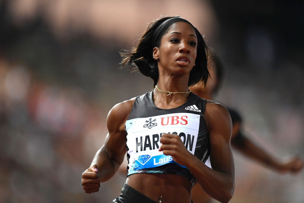 Harrison heading for Paris Diamond League - and another world record