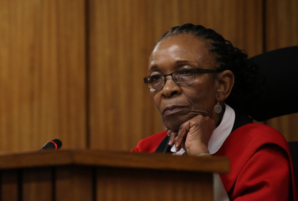 South African judge Thokozile Masipa has dismissed the State's appeal over the sentence given to Oscar Pistorius ©Getty Images