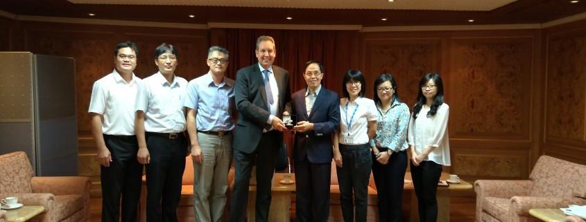 IKF President praises development of korfball in Chinese Taipei during visit