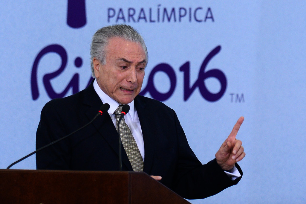 Michel Temer is confident the Rio 2016 Paralympic Games will be a success ©Getty Images